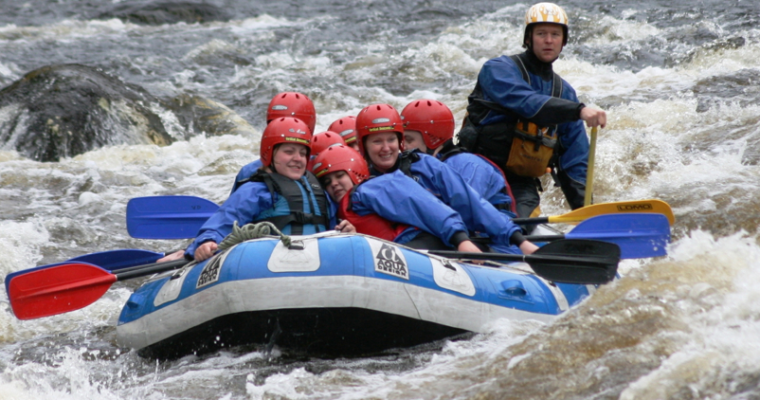 White Water Rafting in Scotland Take the Plunge