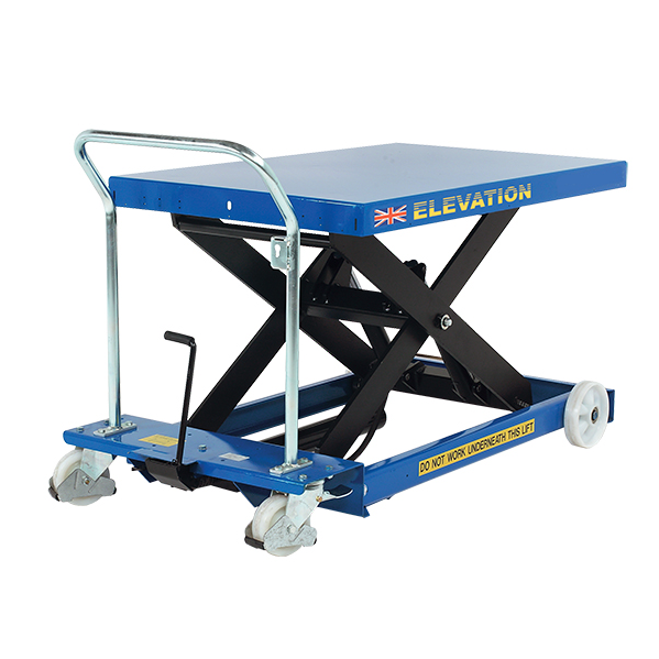 An example of a manual pallet stacker that we would like to find.
