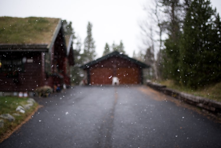 Resin driveways